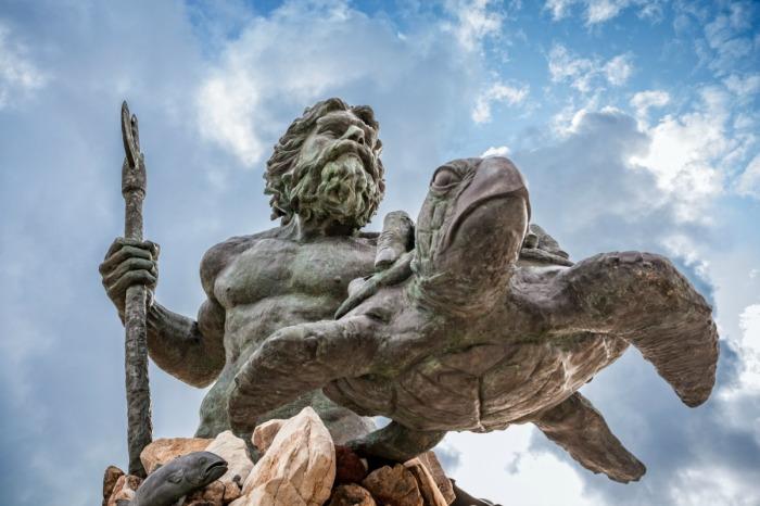 Владыка морей Нептун.